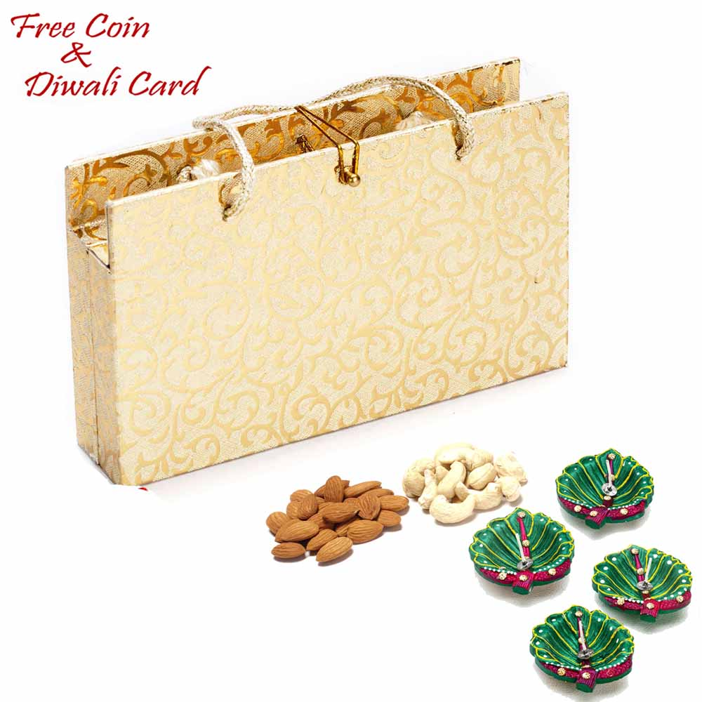 Diwali Dryfruits-Envelope Style Dryfruit Pack for Festive Season