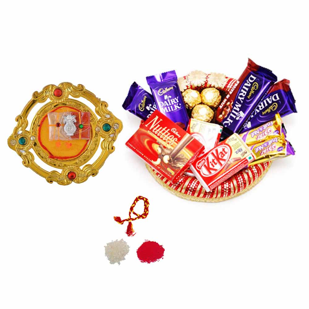 Bhai Dooj Gifts-Collection of Chocolates n Bhai Dooj