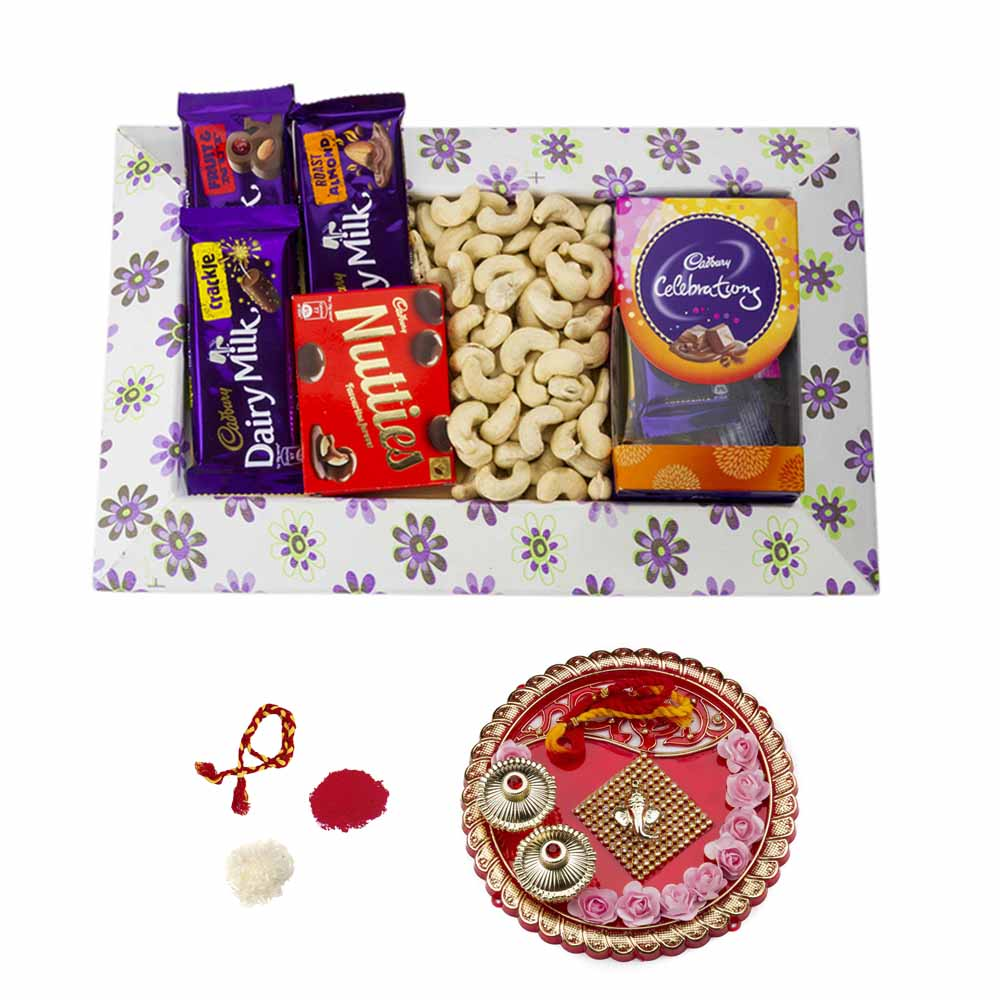 Choco Nutty Bhai Dooj Hamper for 2 brothers