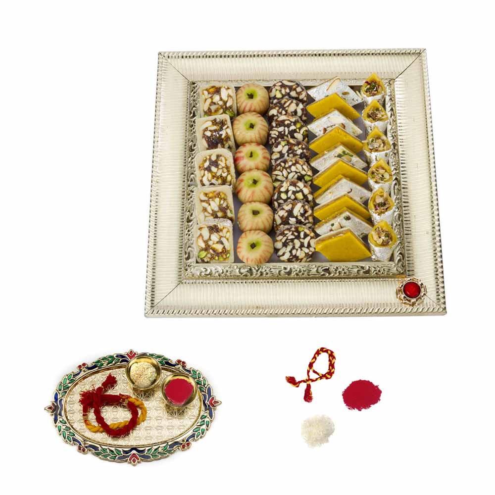 Bikanervala Exotic Sweets Bhai Dooj Hamper for 2 brothers