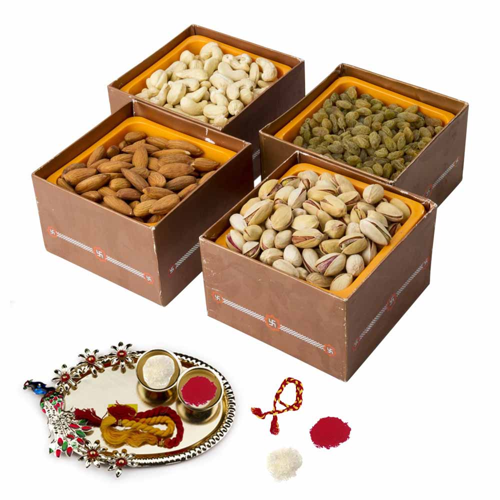 Dry Fruits Bhai Dooj Hamper