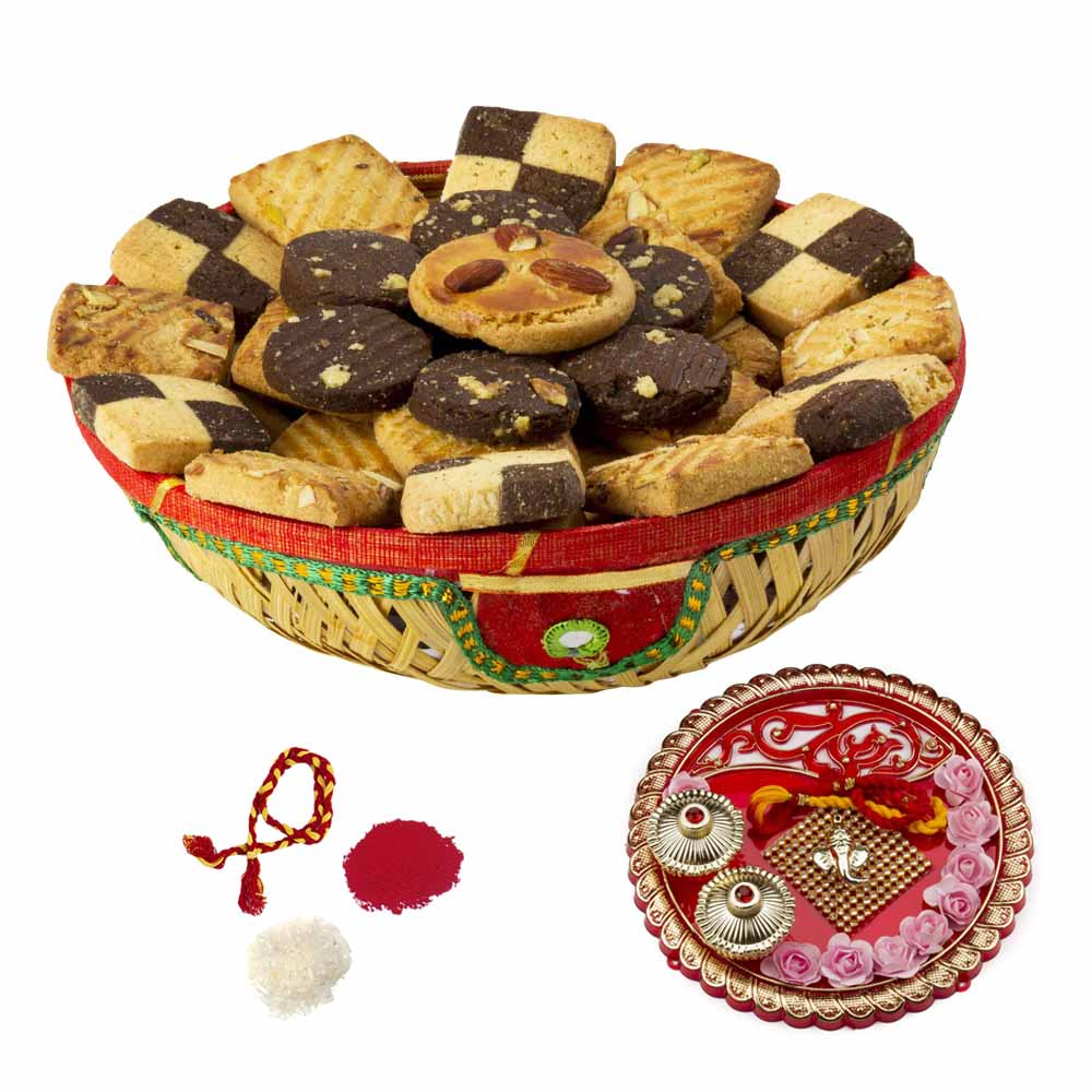 Bhai Dooj Gifts-Choco Crunch Cookies Bhai Dooj Hamper