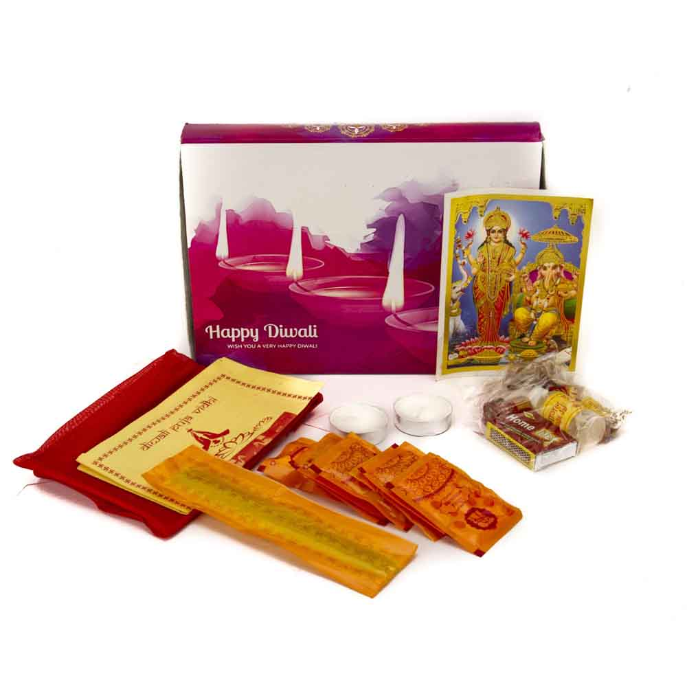 Pooja Thaali-Diwali Greetings Pooja Kit