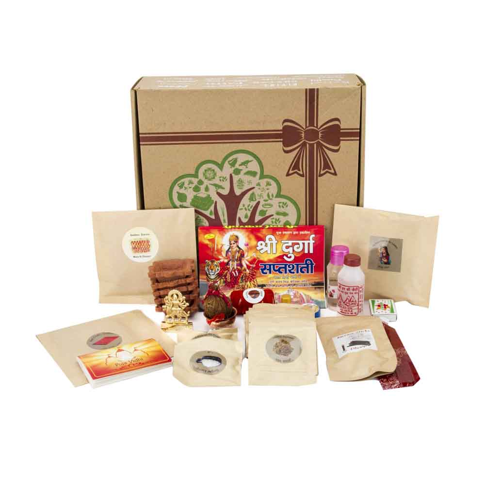Pooja Thaali-Eco Friendly Diwali Pooja Kit