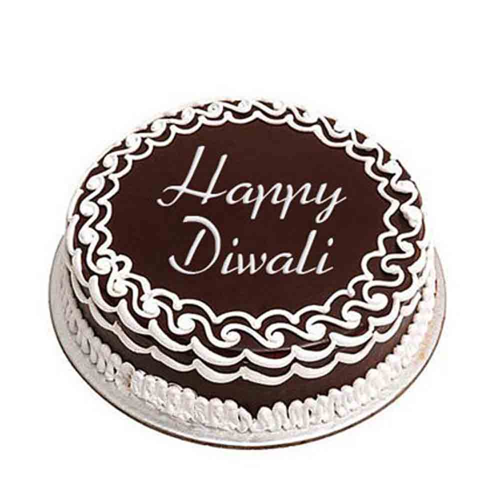 Chocolate & Cookies-Delicious Chocolate Cake For Deepavali - Diwali Gifts
