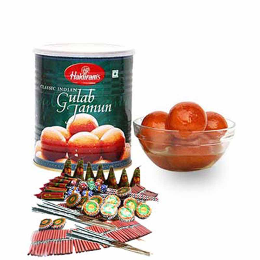 Crackers & More..-Crackers and Gulab Jamun