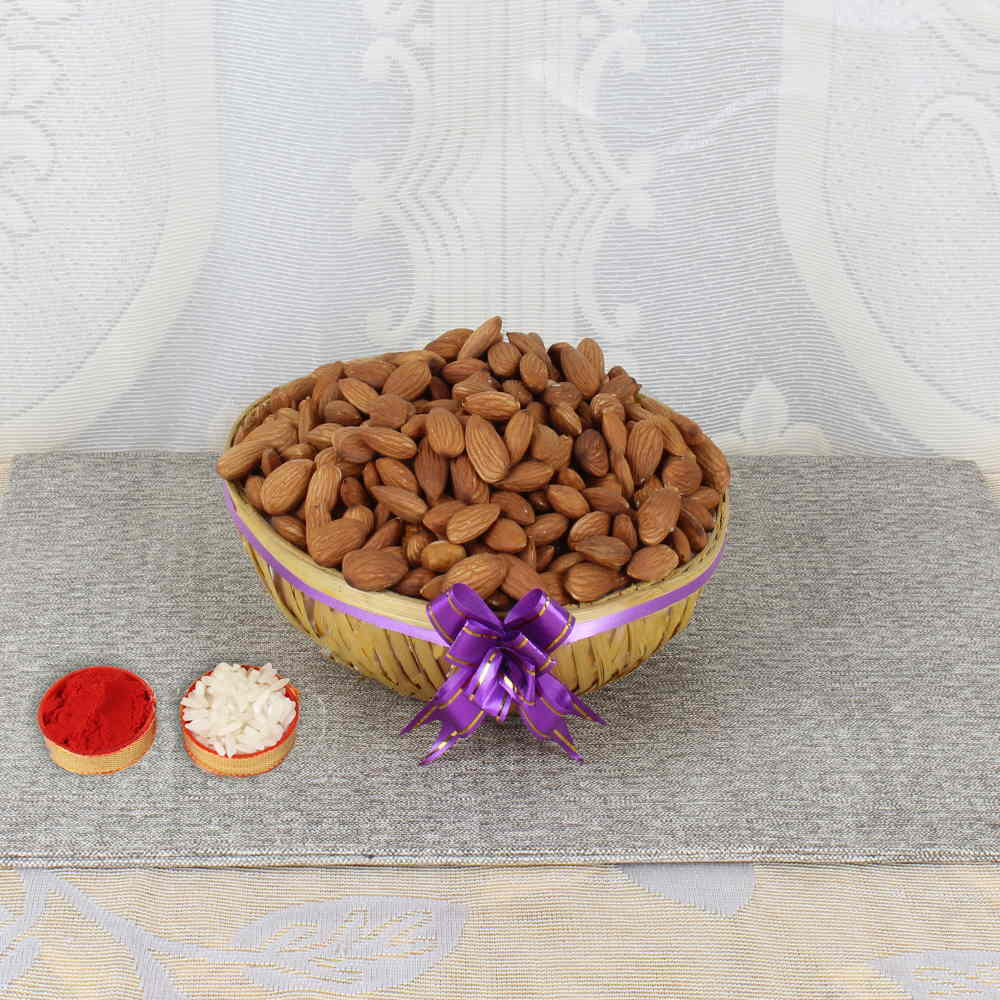 Bhai Dooj Same Day Gift of Almonds