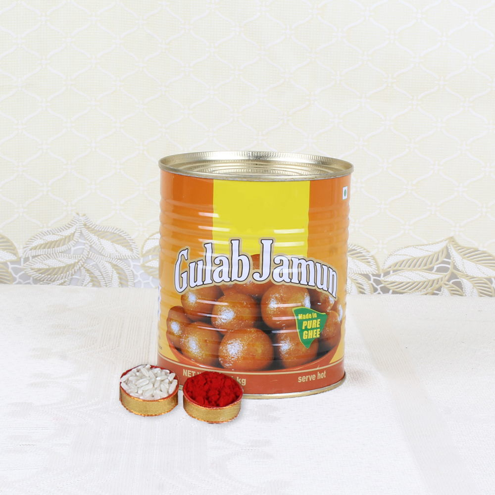 Dry Fruits-Bhai Dooj Express Gift of Mouth Watering Gulab Jamun