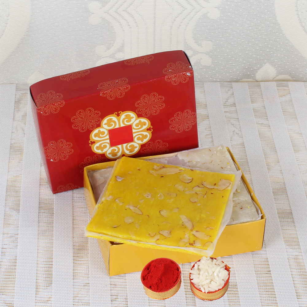 Dry Fruits-Bhai Dooj Same Day Delivery of Bombay Halwa Sweets