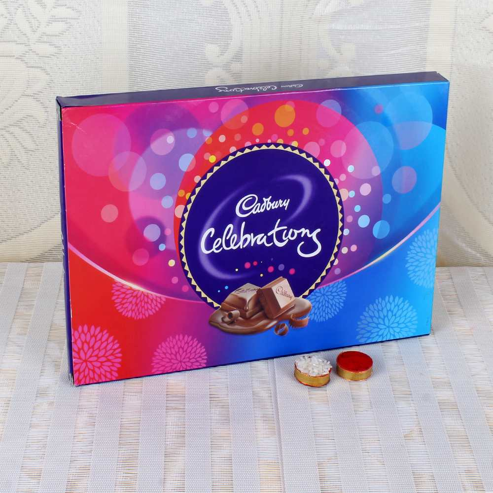 Dry Fruits-Cadbury Celebration Chocolate for Bhai Dooj Gift