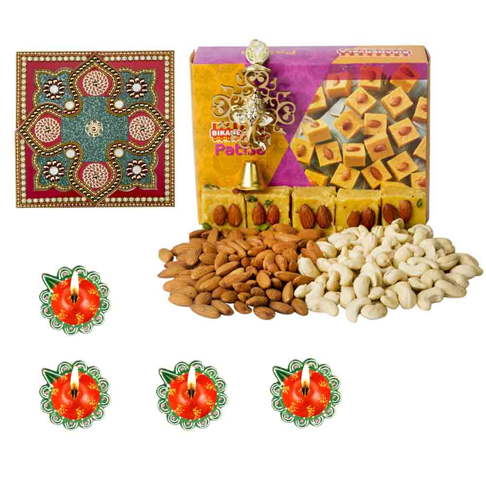 Diwali Hampers-Bikanervala Nutty Patisa Diwali Hamper