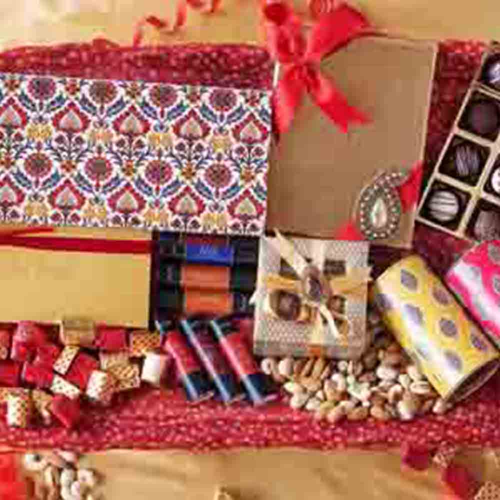Diwali Chocolate Crackers Box of 11