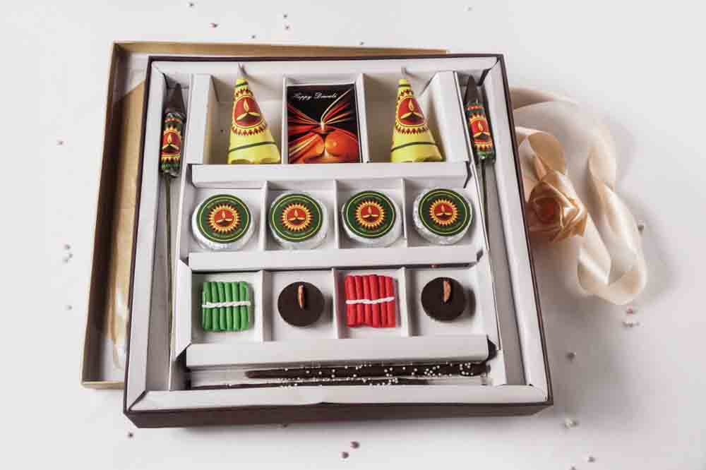 Diwali Chocolate Crackers Box of 14
