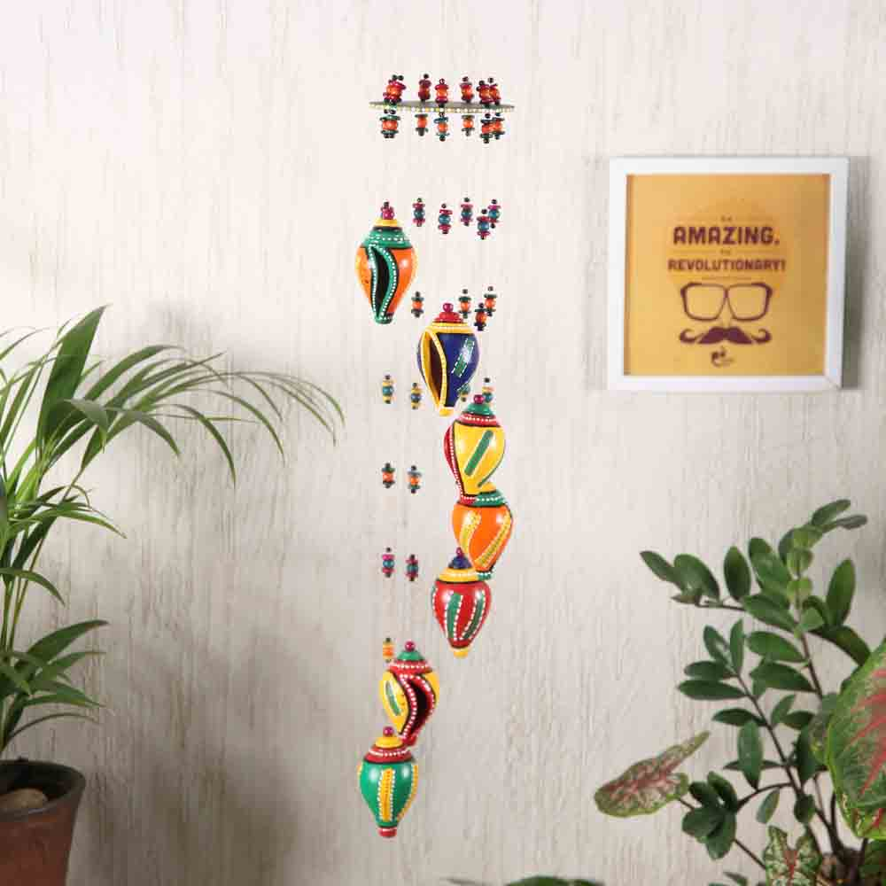 Multicolor Wind Chime for Diwali Decoration