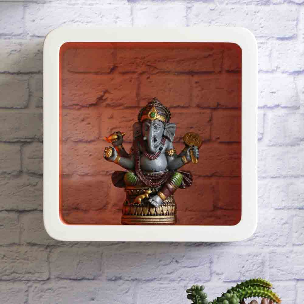 USA Special-Antique Finish Ganesha idol Showpiece