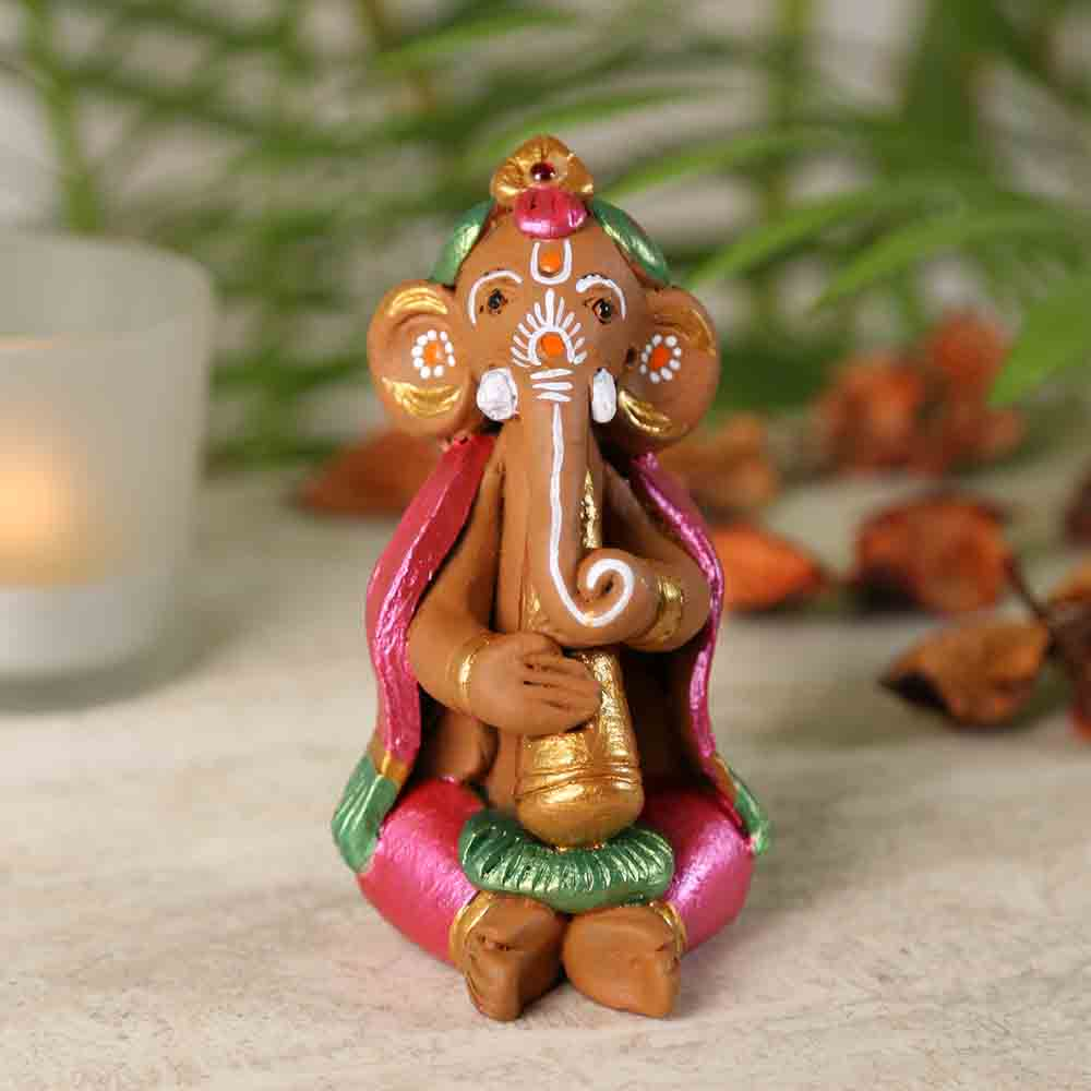 Terracotta Sweet Ganesh Showpiece