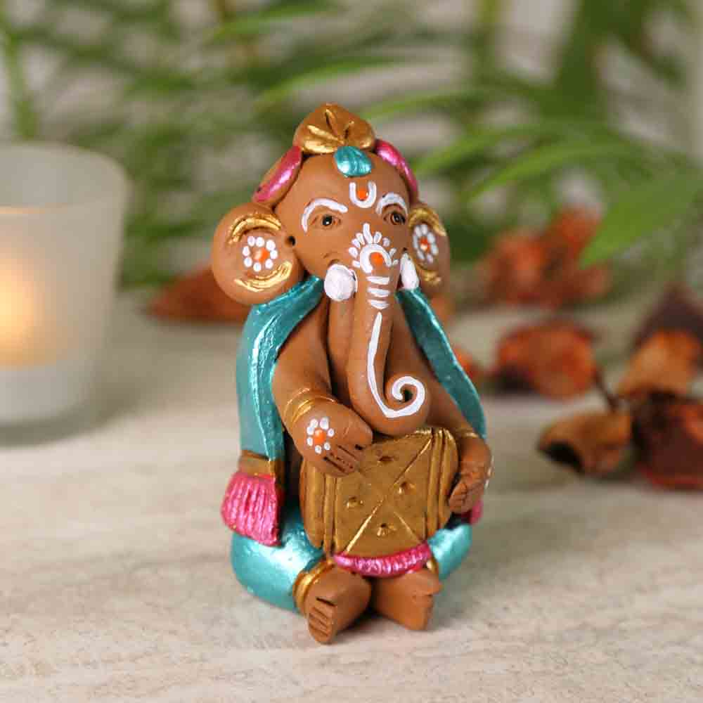 Terracotta Lovely Ganesh Showpiece