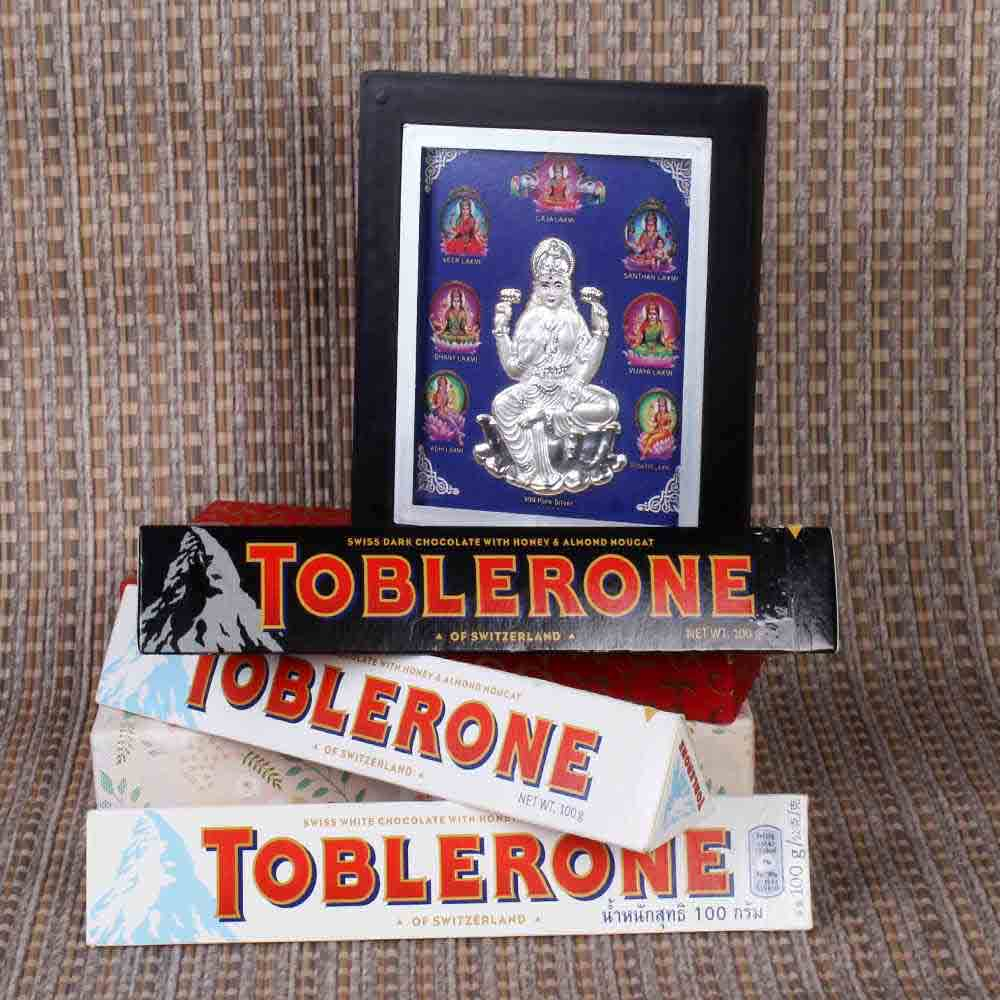 Laxmi Frame with Toblerone Chocolate Combo