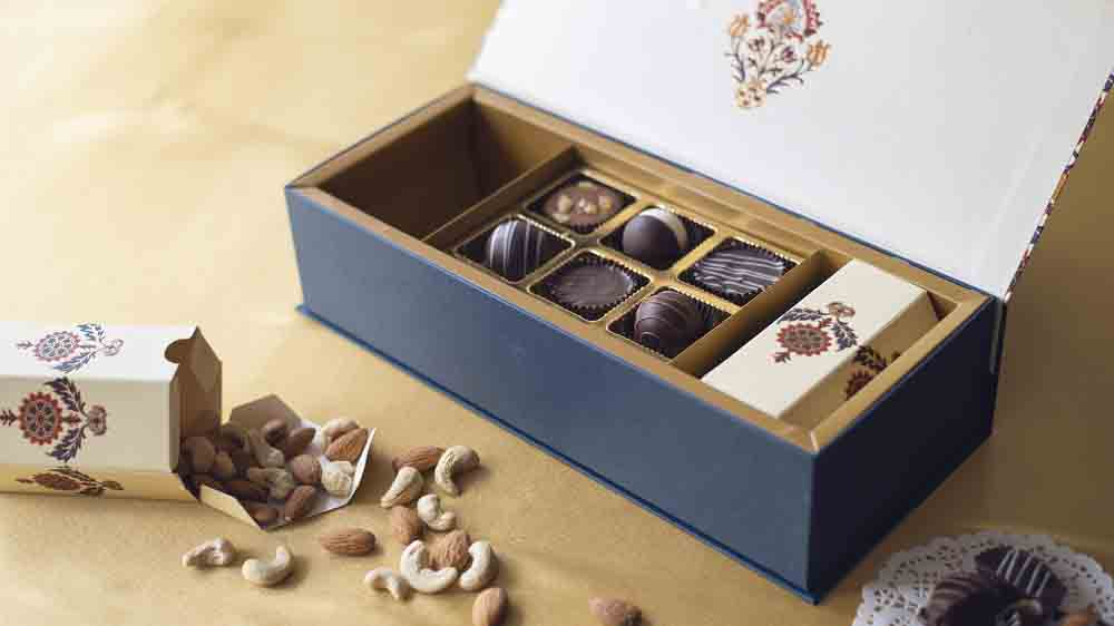 Diwali Chocolate and Dry Fruits Festive Box