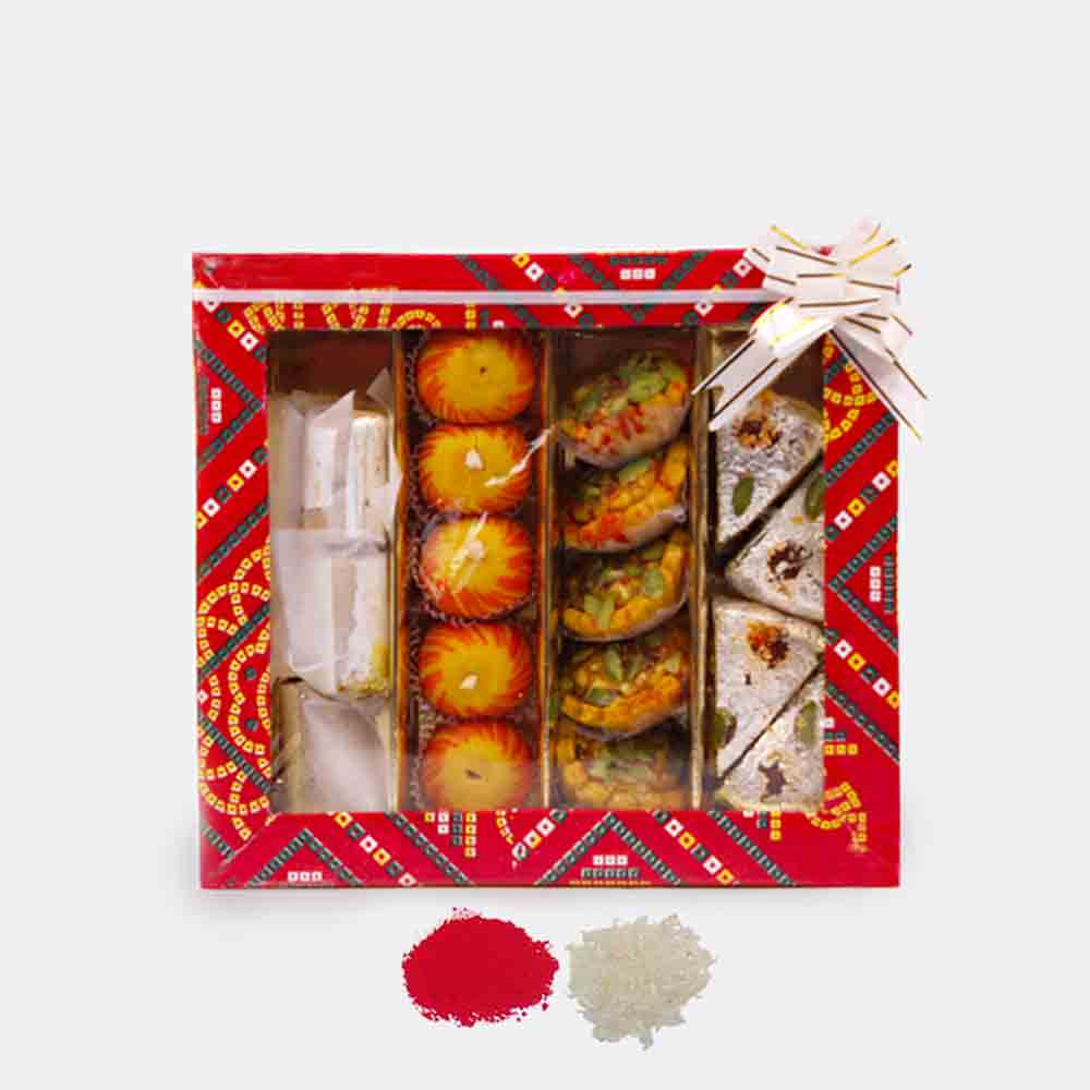 Mix Assorted Kaju Sweets for Bhaidooj Gift