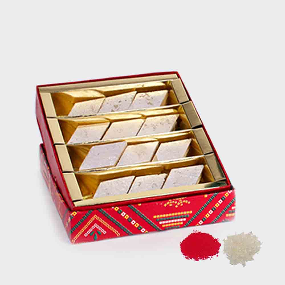 Exclusive Bhaidooj Kaju Katli Box