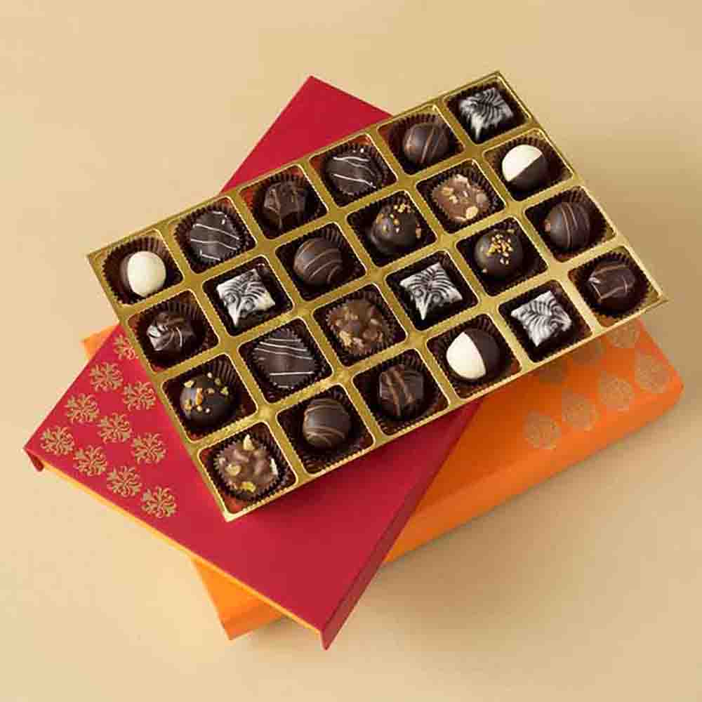 Luxury Chocolate Truffles box of 24