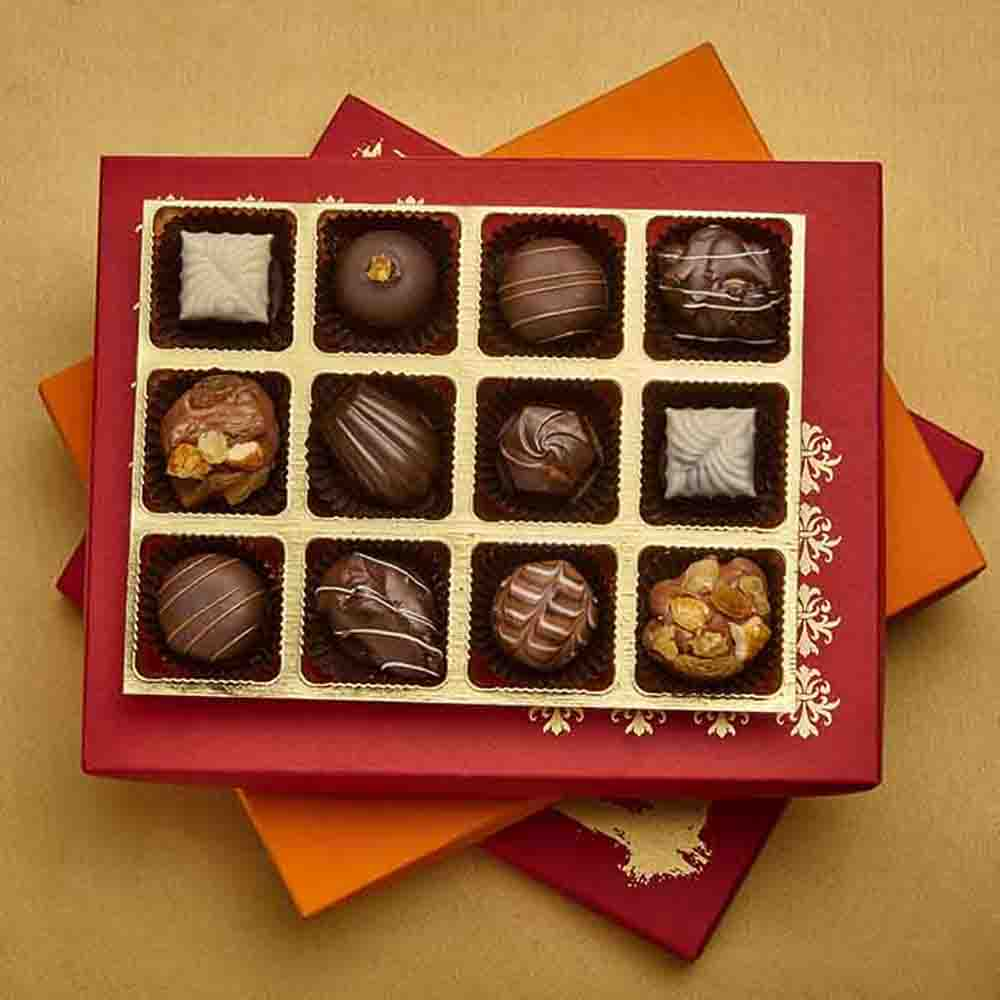 Luxury Chocolate Truffles Joy Box of 12