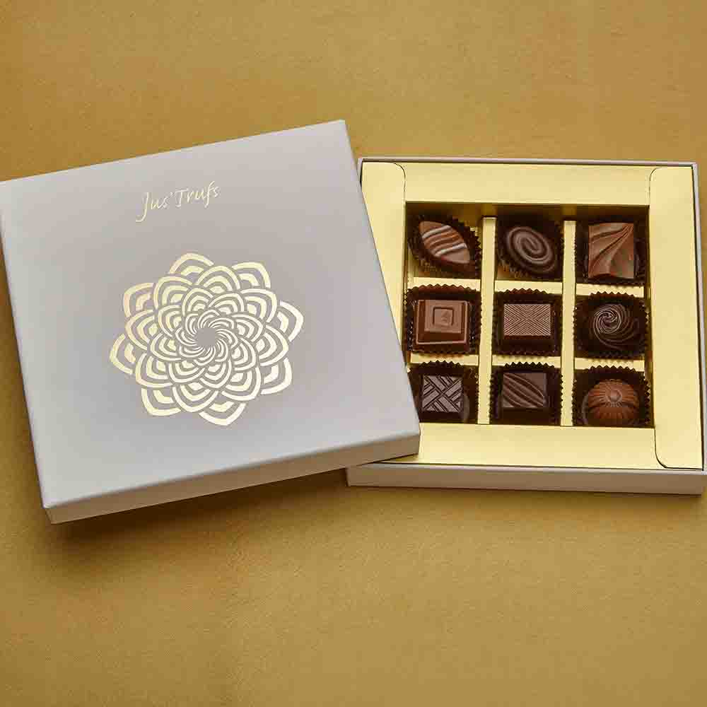 Chocolate & Cookies-Classic Box of 9