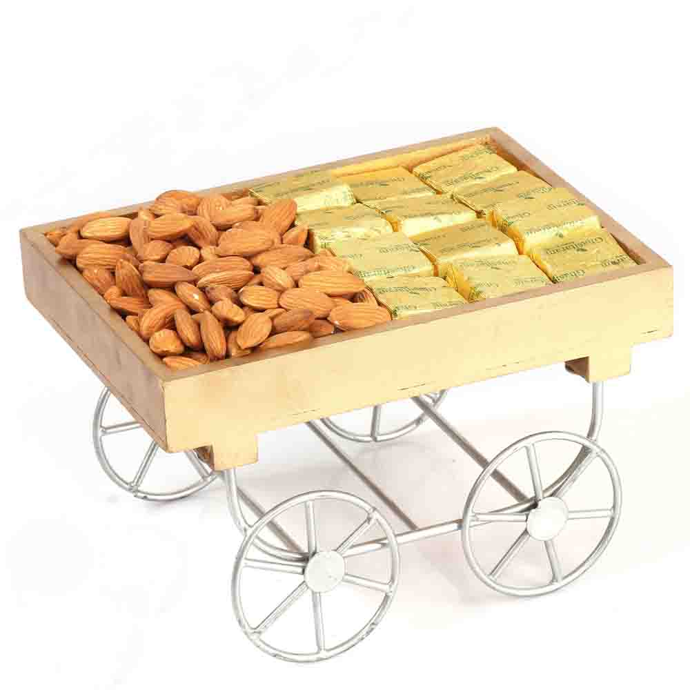 Cart Tray with Chcolates