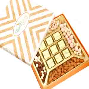 Diwali Hampers-Special Almonds and Chocolate Box