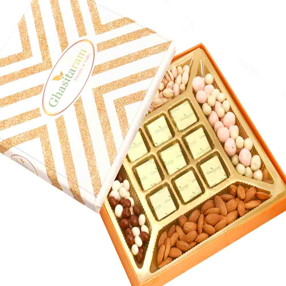 Special Almonds and Chocolate Box