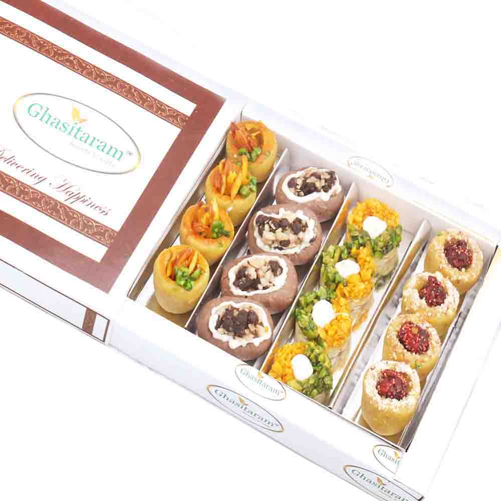 Assorted Box of Anjeer Basket and Almond Basket 400 gms