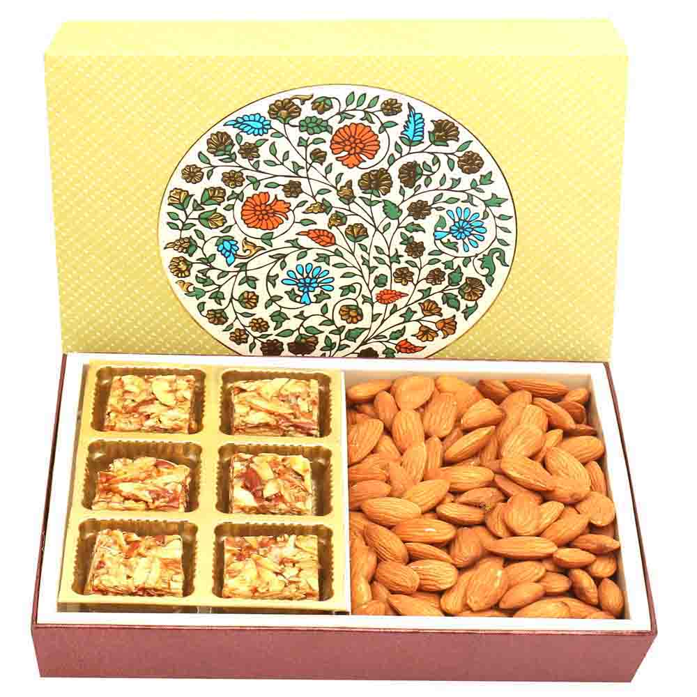 2 Part Eco Almonds and Roasted Almond Bites Box