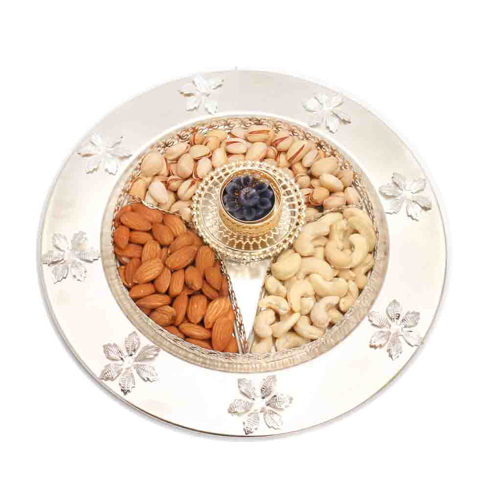 T-Lite Dryfruit Thali with T- Lite
