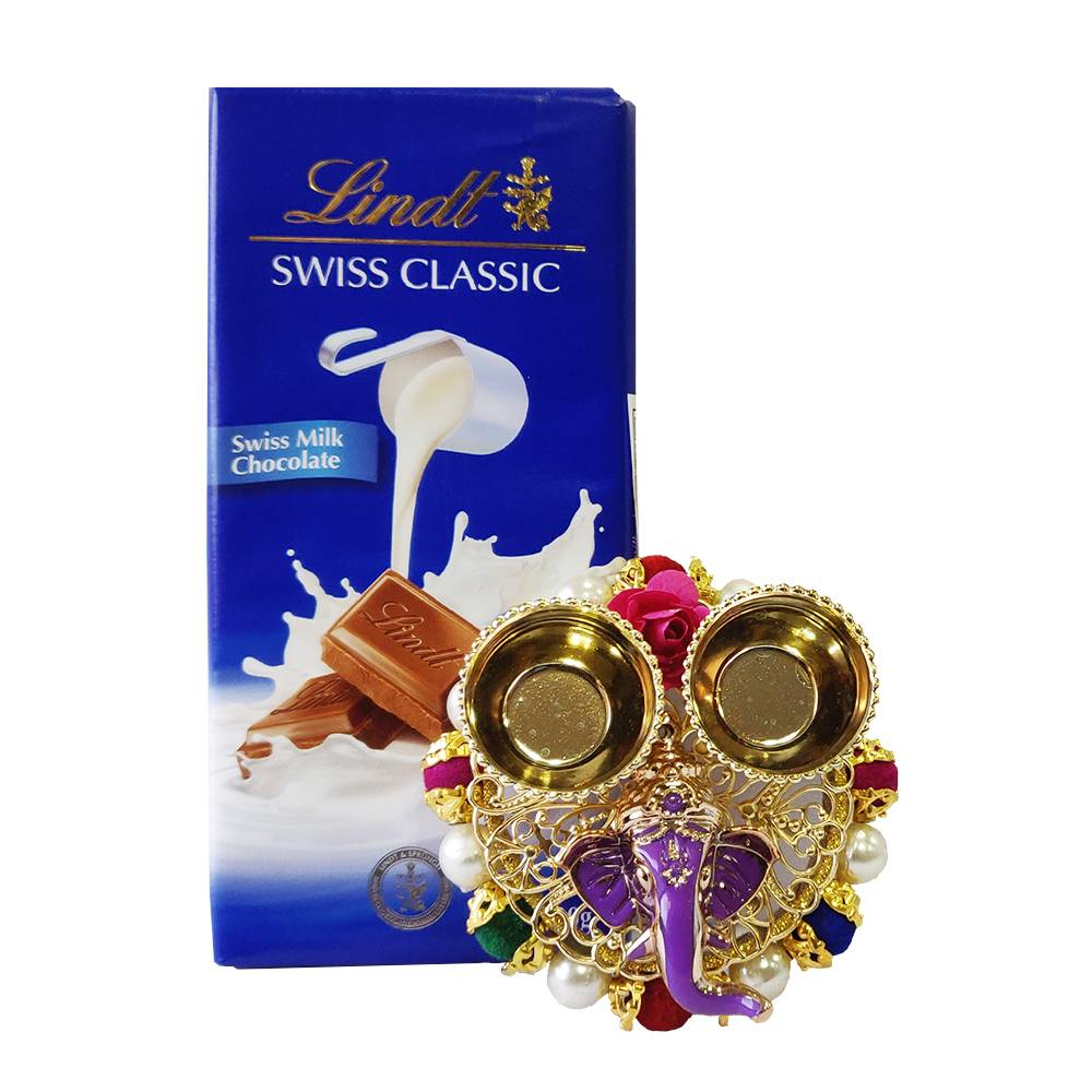 Lindt Swiss Classic Milk Chocolate Bars With Bhaidooj Kit