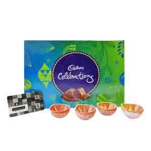 Diwali Hampers-Shoppers Stop Gift Card With Cadbury Celebration