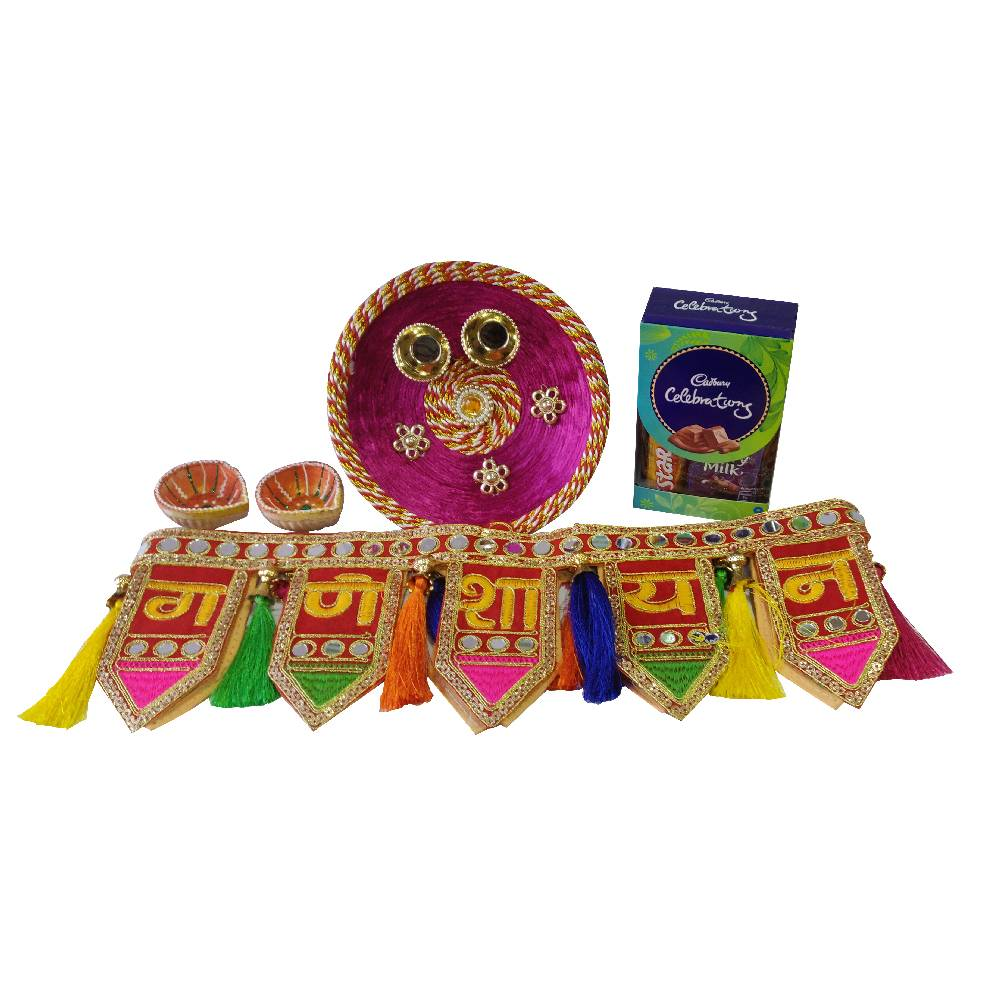 Diwali Hampers-Cadbury Celebration With Designer Toran
