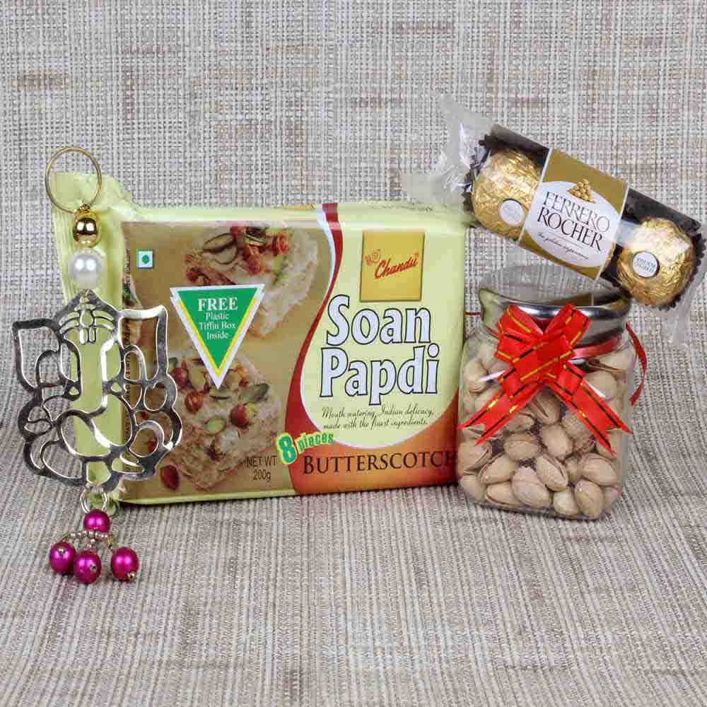 Soan Papdi and Dryfruit Hamper for Diwali