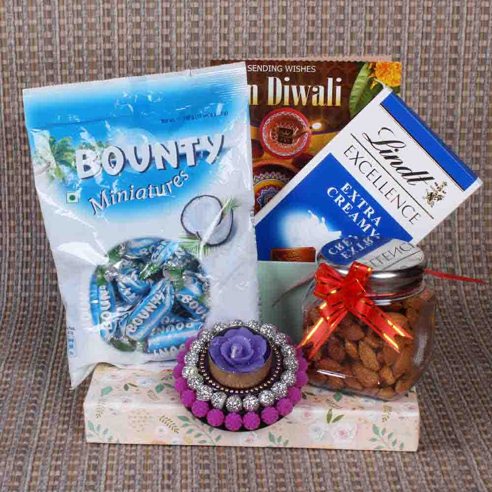 Chocolate with Almond Hamper for Diwali