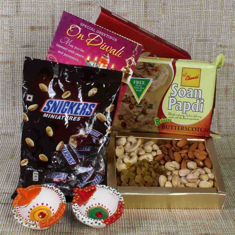 Diwali Hampers-Chocolate and Dryfruit with Sweet Hamper