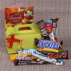Diwali Hampers-Imported Chocolate Bars for Diwali