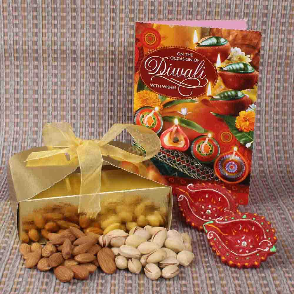 Diwali Hamper of Assorted Dryfruit Box