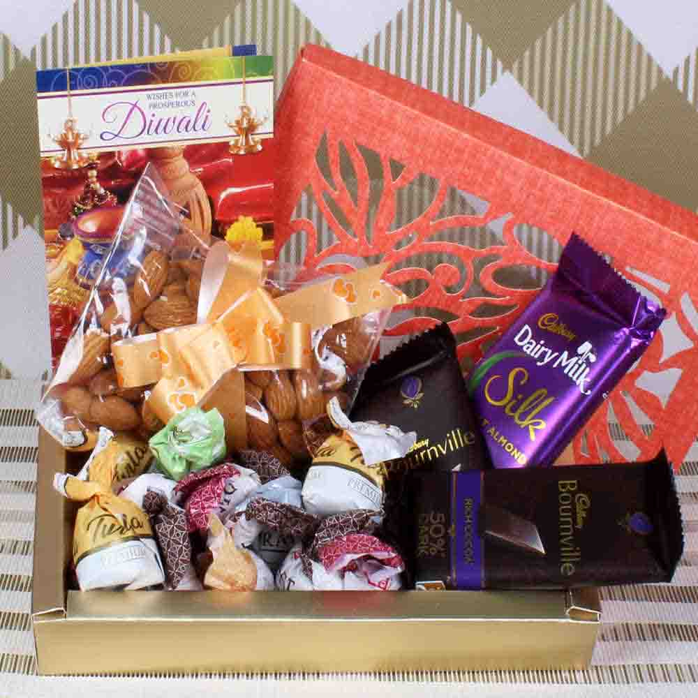 Chocolate hamper for diwali