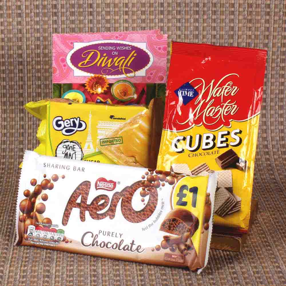 Imported Chocolate hamper for diwali