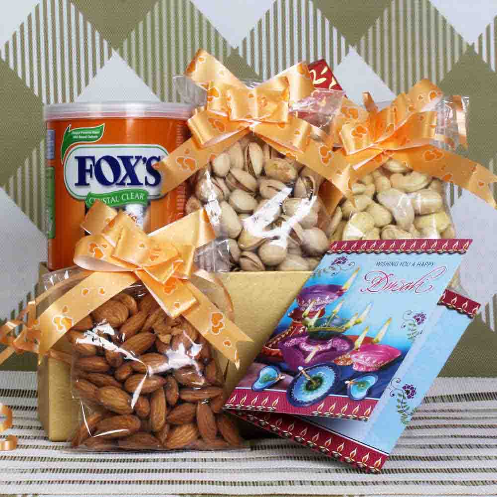 Dryfruit and Fox hamper