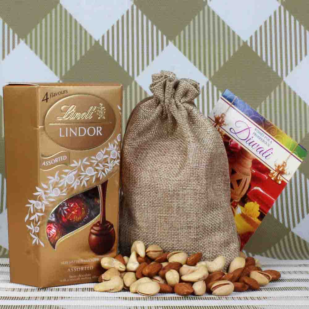 Lindt Lindor and Dryfruit
