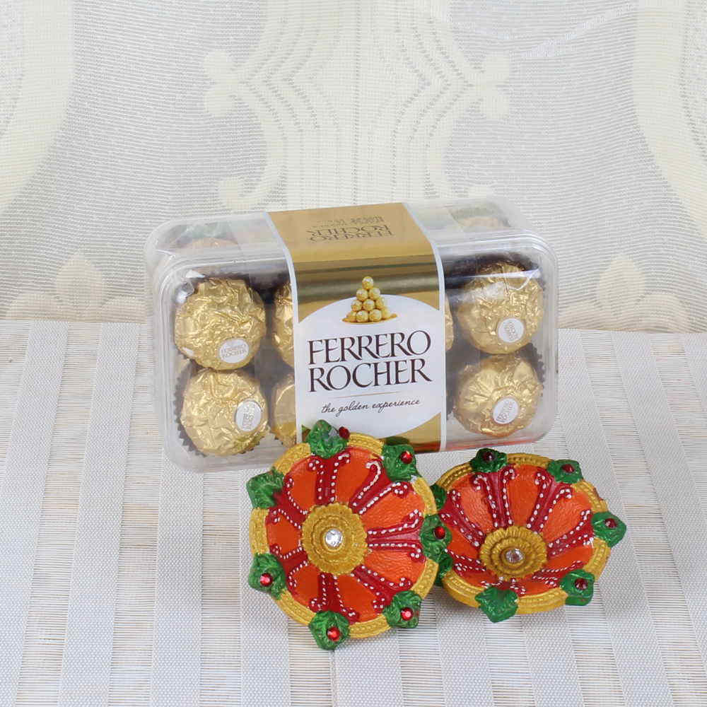 Diwali Hamper of Ferrero Rocher Chocolate