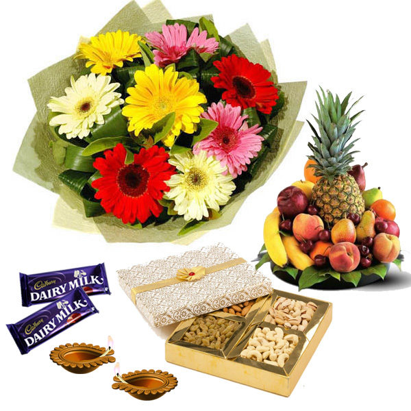 Healthy Fruity Gifts Hamper on Diwali !