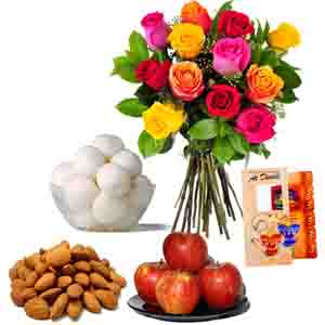 Floral Hampers-Healthy Diwali Gift Combo