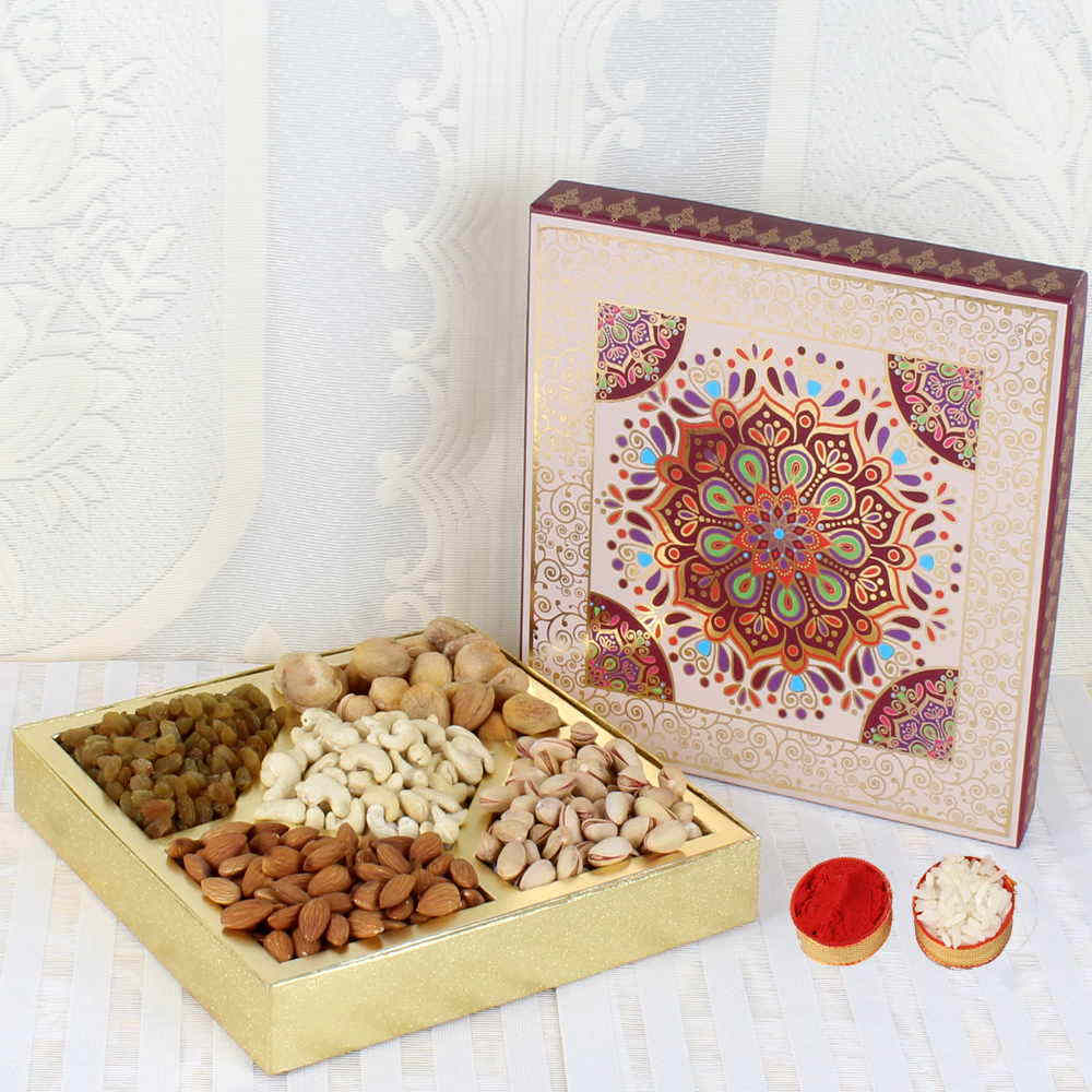 Assorted Dry Fruit Bhai Dooj Gift